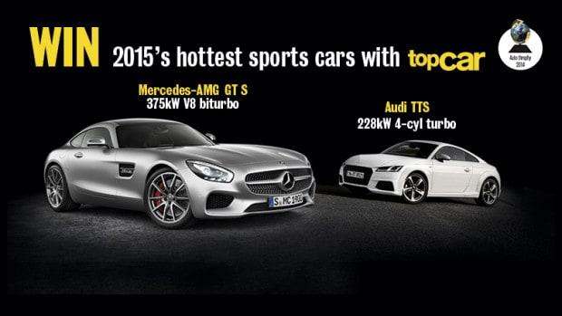 Win a Mercedes-AMG GT S or an Audi TTS